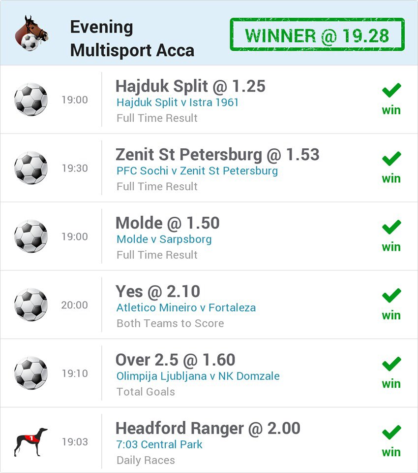 The betting experts at @OLBG have bagged another Evening Acca win! 💸💸💸 Download the free app today and get on their acca for tonights action! 📲 👉 olbg.info/gjdlfw