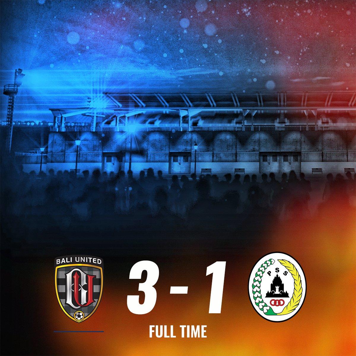 Hasil Pertandingan Bali United 3-1 PSS Sleman