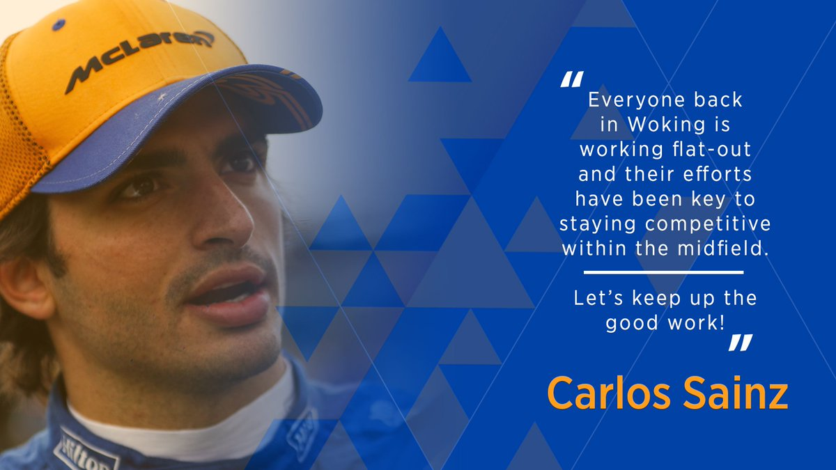 💬🤝 @Carlossainz55 has praised the collective team effort at McLaren ahead of this weekend's #GermanGP.  Read our full race preview ➡️ http://mclrn.co/GERpreview