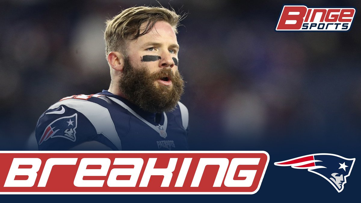 BREAKING: Julian Edelman is expected to be sidelined for about 3 weeks with a thumb injury #Patriots<br>http://pic.twitter.com/GAESXkyHfl
