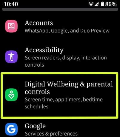 https://www.bestusefultips.com/how-to-set-up-parental-controls-in-android-q/…How to set up parental controls in #AndroidQ 10. Digital Wellbeing beta updated with new parental controls feature in #Android10 & 9 Pie.