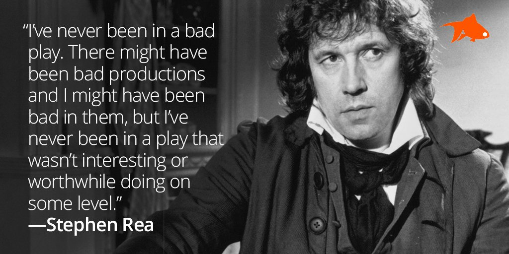 We are super crushing on Stephen Rea back in the day! #mancrushmonday with a dash of #mondaymotivation :) #actors #actinglife #casting #auditions #stephenrea #irishactors #film #tv #theatre