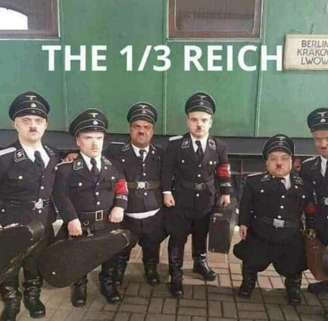 They're only a little Nazi.