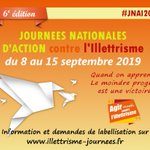 #illettrisme #illectronisme #JNAI2019 - 6ème édition des Journées Nationales d'Action contre l'Illettrisme (JNAI), https://t.co/G7RFtgc0sU  * @ANLCI_Lyon (Agence nationale de lutte contre l'illettrisme)