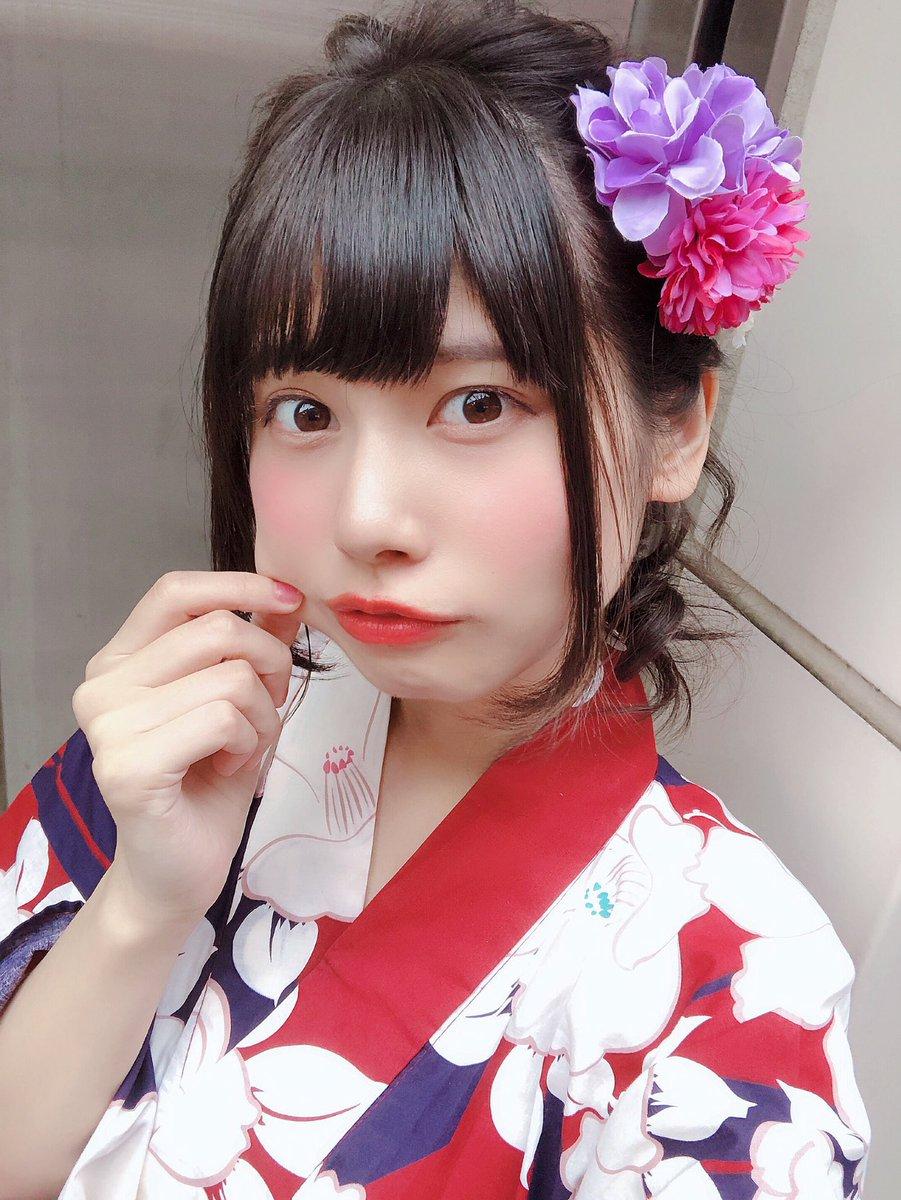 #ぺろりんカフェ ありがとう〜!今年初浴衣だよ〜!