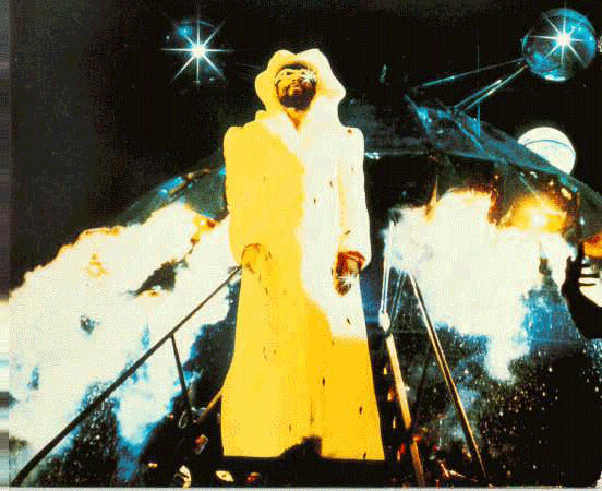 Happy Birthday George Clinton Arrived in The Mothership on this day, back in 1941