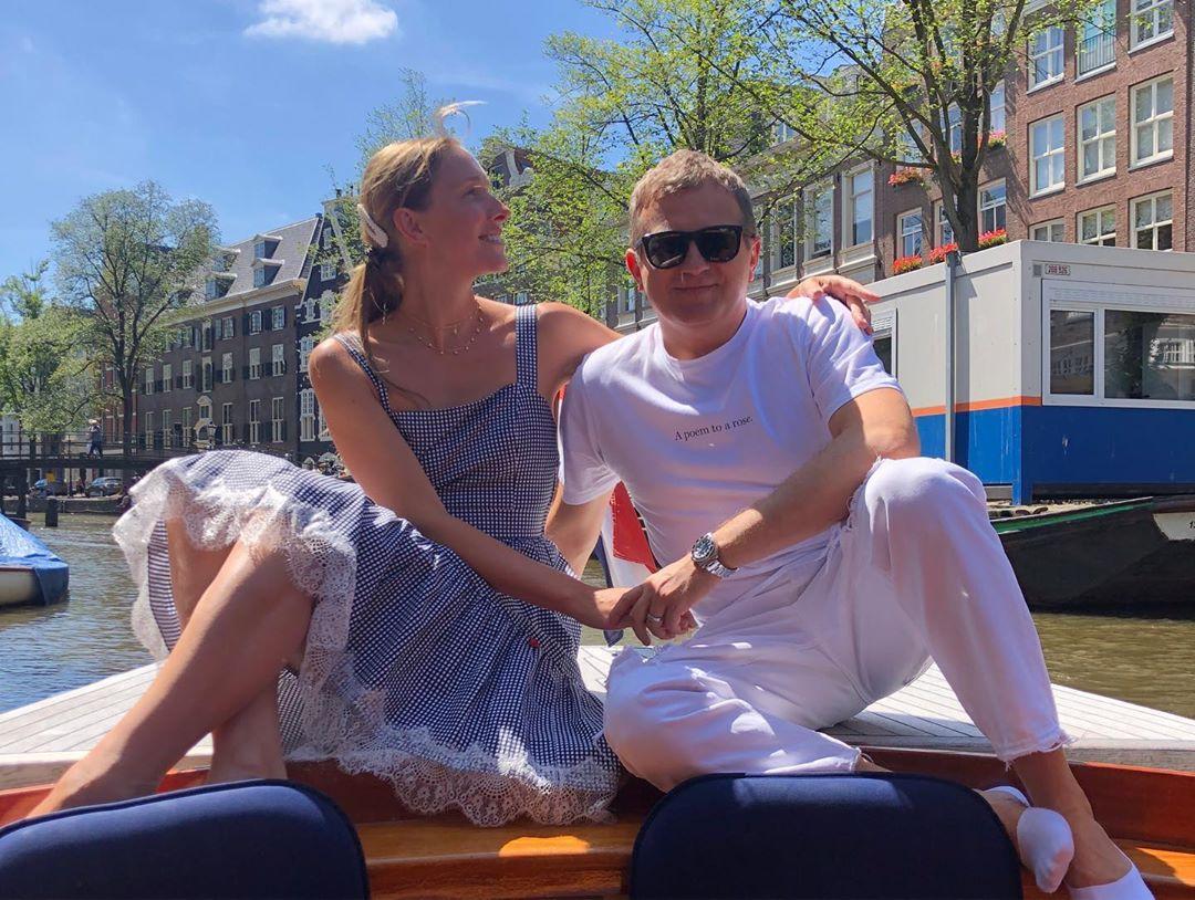 Осадчая и Горбунов в Амстердаме