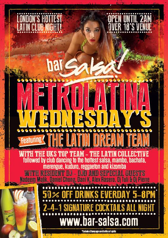 #FREE entry b4 9pm FREE intro #dance #class at 7pm #London #WC2H0JG close to #LeicesterSq #TottenhamCrtRd and #CoventGarden #Latin #Dance #Salsa #classes #dancing #fun #thingstodo best #Wednesday night out #HappyHr 4-8pm #Outside drinks and food until 8.30/9pm