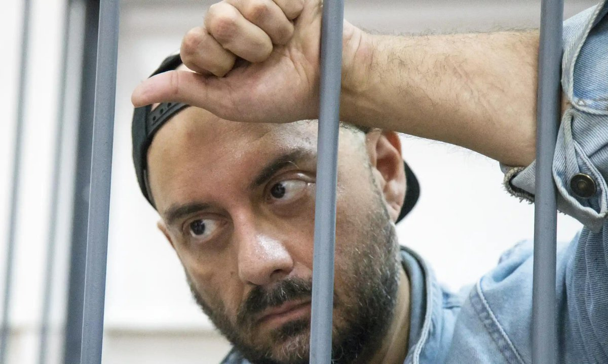 #KirillSerebrennikov, director detained in Moscow: Once the toast of #Russia's avant garde, he now faces a 10-year jail sentence. As his powerful, sexually charged play #Outside is staged @FestivalAvignon, he vows he won't be silenced https://www.theguardian.com/stage/2019/jul/22/russian-roulette-director-staging-resistance-kirill-serebrennikov-avignon-festival?CMP=share_btn_tw… #theatre
