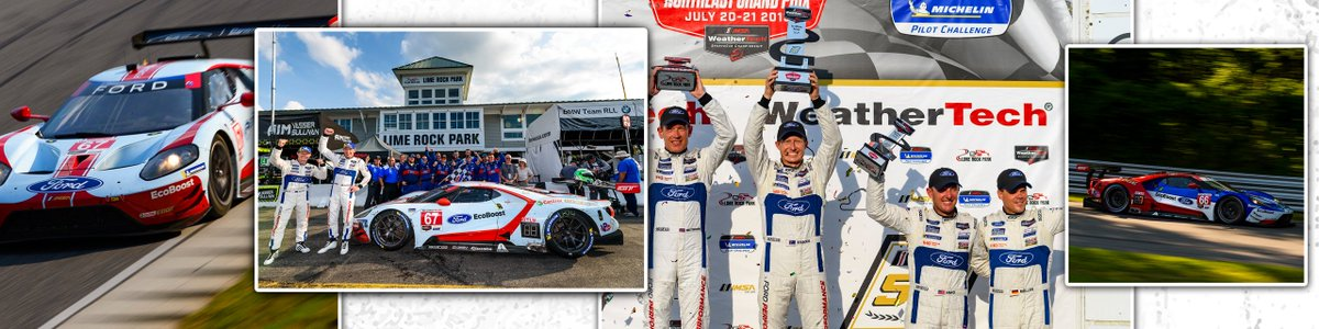 Mondays aren't so bad when you're celebrating a W and double podium!   #MondayMotivation | #FordIMSA<br>http://pic.twitter.com/ymXTMDRrQ0