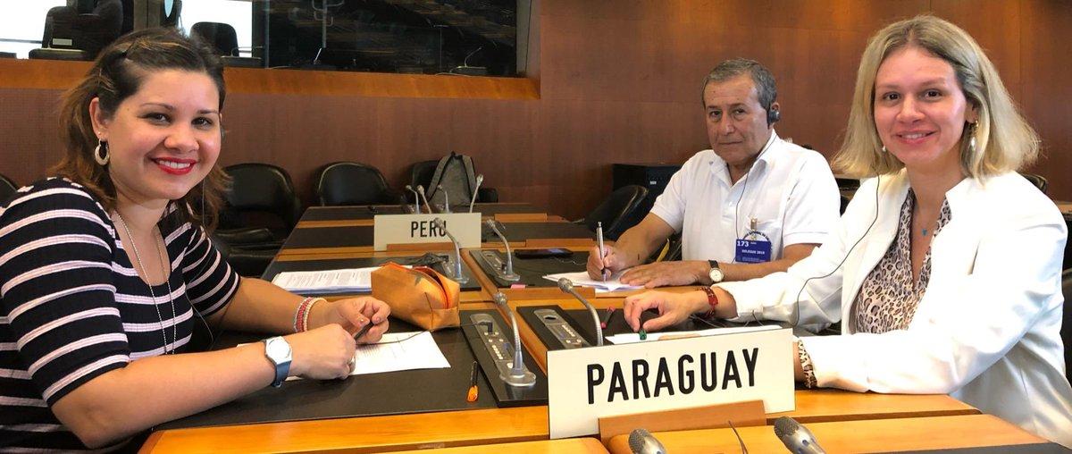 #Paraguay 🇵🇾 participa de la reunión ordinaria del Comité de Medidas Sanitarias y Fitosanitarias en @omc_es @wto #WTOsps @magparaguay @SENAVEParaguay