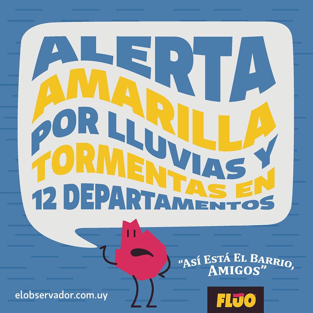 Lluvias inminentes, medidas negativas, vocabulario dudoso y taxistas enojados. #AsiEstaElBarrio, amigos!  #Uruguay #AlertaAmarilla #Lluvias #Brasil #Bolsonaro #Medidas #Argentina #Cristina #K #Pindonga #Cuchuflito #Paraguay #Taxis #Uber