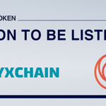 Image for the Tweet beginning: OnyxChain will be listed on