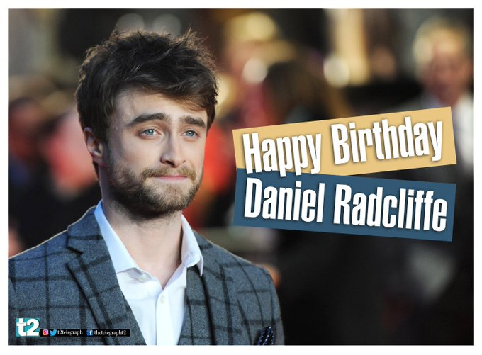 For us, he\s always be Harry Potter! t2 wishes Daniel Radcliffe a very happy birthday!