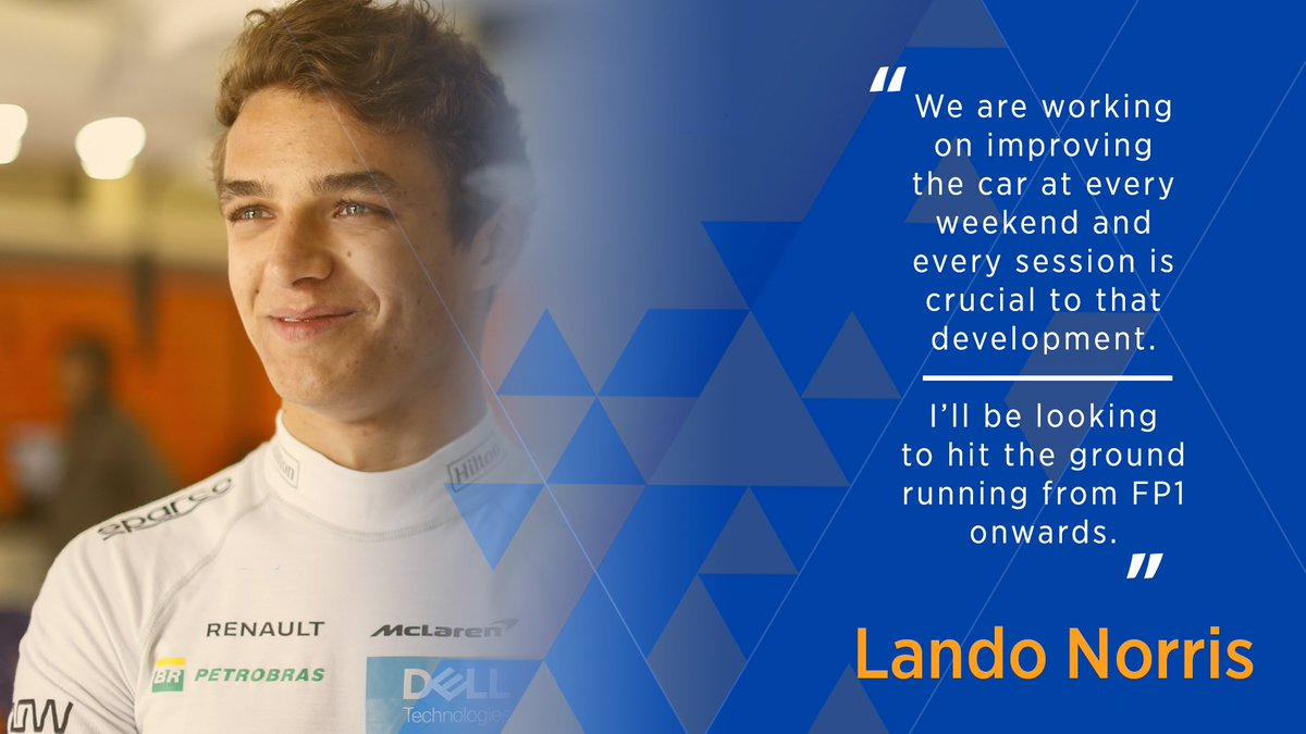 💬🇩🇪 One step at a time for @LandoNorris as he gets set for his first #GermanGP in @F1.   Read our full race preview ➡️ http://mclrn.co/GERpreview