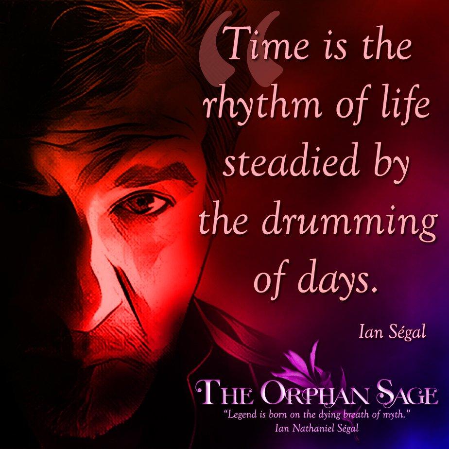 The Drumming of Days ✍🏼 📚    #iansegal #author #fantasy #books #amwriting #quoteoftheday #booknerdigans #quotes #wordsofwisdom #theorphansage #segalian #ian #booksaremagic #writerscommunity #WritingLife #creativewriting #literature #grimdark