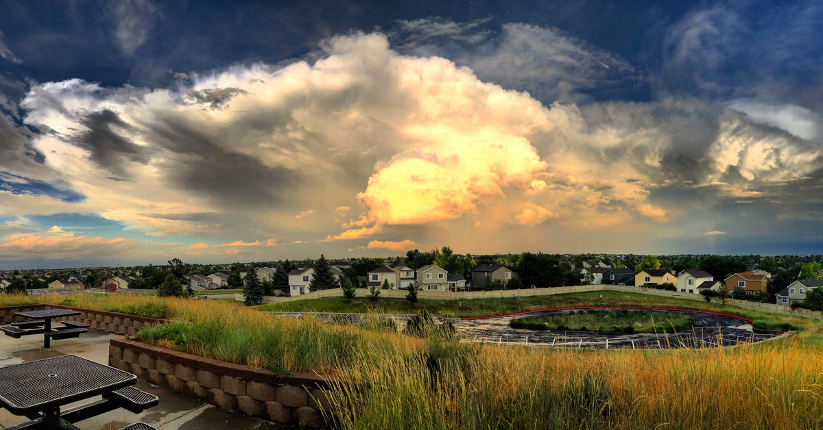 Watching this storm grow from Lookout Park in Centennial, CO. @StormHour #StormHour #POTW<br>http://pic.twitter.com/cEf1cZ1230