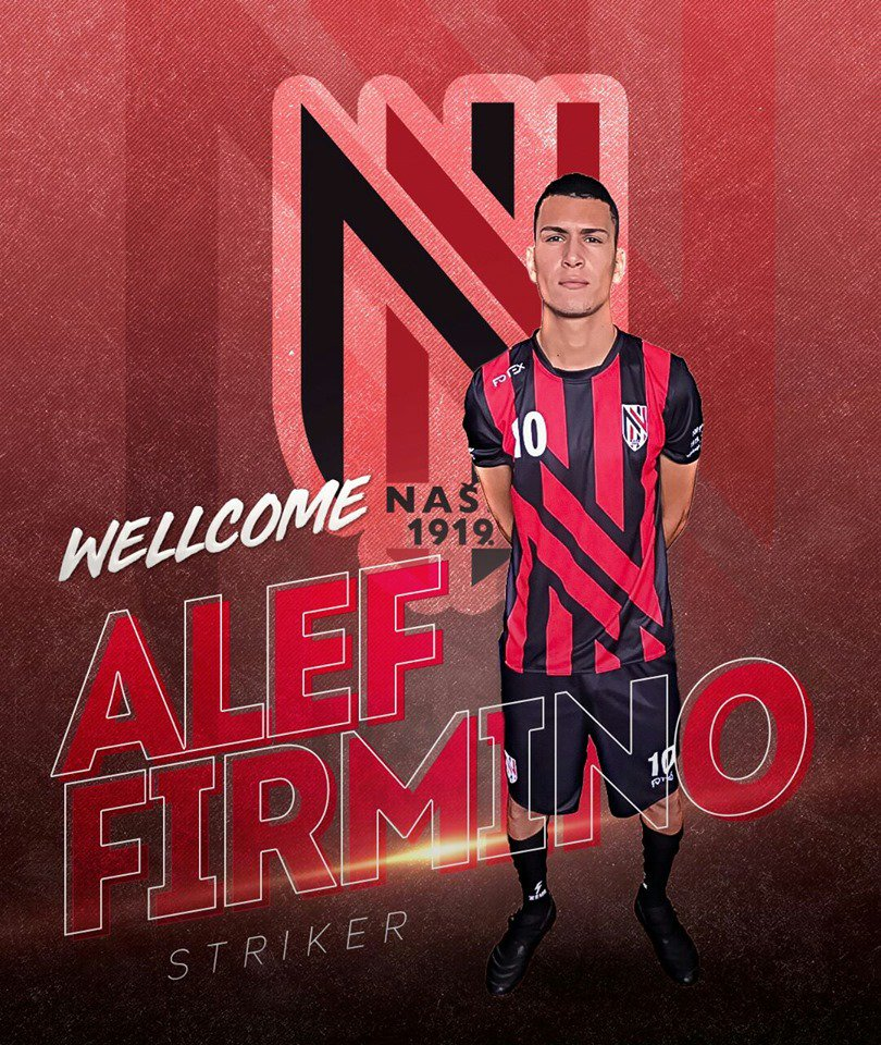 Alef Firmino leaves #Cameroon's Union Douala for Croatian club NASH 1919 on a five-month deal.  The forward didn't end last term at USD.  @evrageraud you told @NjieEnow Franck Happi was going in for PR when he brought this guy😂