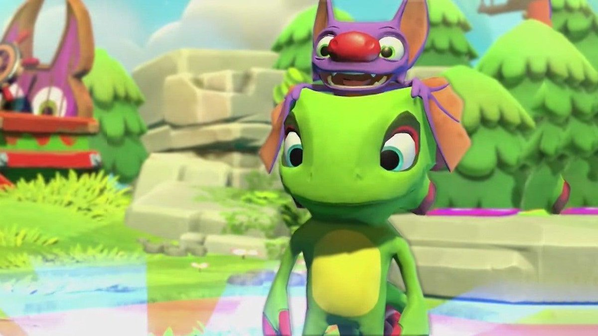 Yooka-Laylee and the Impossible Lairs levels can change form — and its a blast to play. Check out our latest preview right here. bit.ly/2Y88RSl