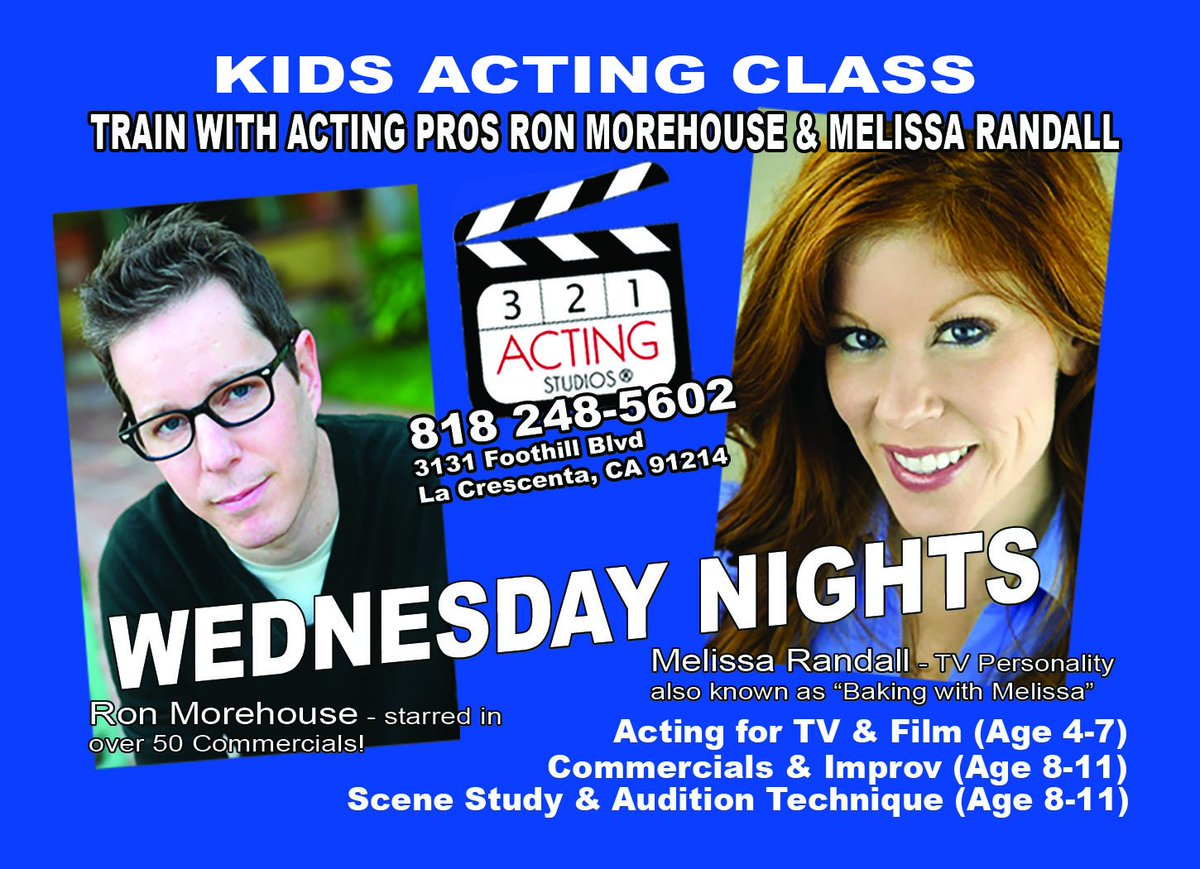 Take advantage of working with Professional instructors every day at 321 Acting Studios #ActingLife http://ow.ly/ZMrlf