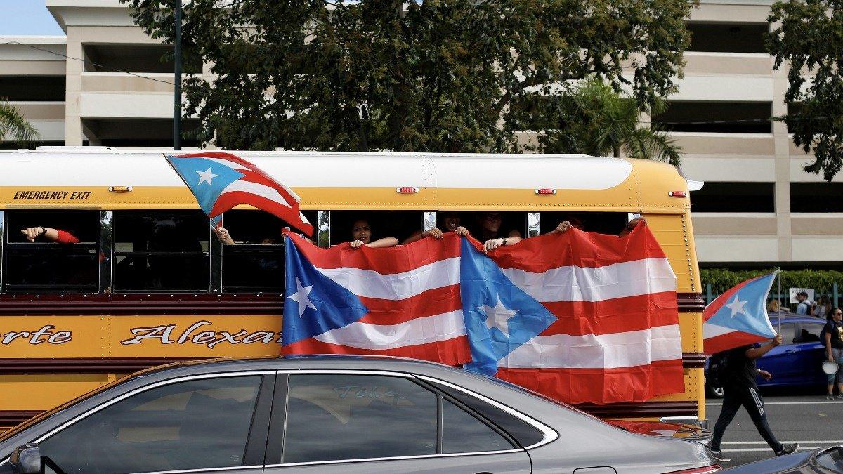 Protesters pack San Juan demanding governor quit https://reut.rs/2Y6gWXz