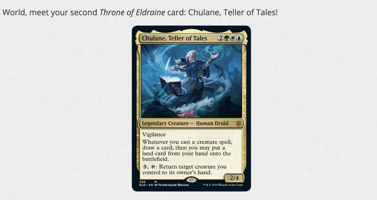 Awesome new Commander from #mtgeldraine! (from:  https:// magic.wizards.com/en/articles/ar chive/card-preview/new-era-brawl-2019-07-22   … ) #Mtg <br>http://pic.twitter.com/MyRIrDwapi