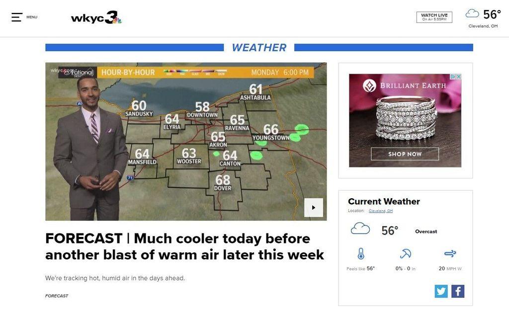 latest weather news   Image Slny