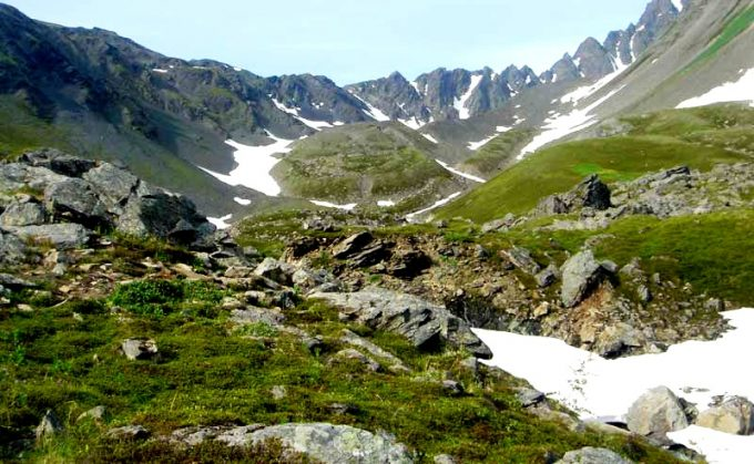 MOUNT MARATHON – SEWARDMt Marathon used to be known as Lowell Mountain and it features a 3 miles long trail, on a round trip, so when you return you'll have a different scenery than when you left. #AdventureBoundAlaska #TracyArm #Alaska