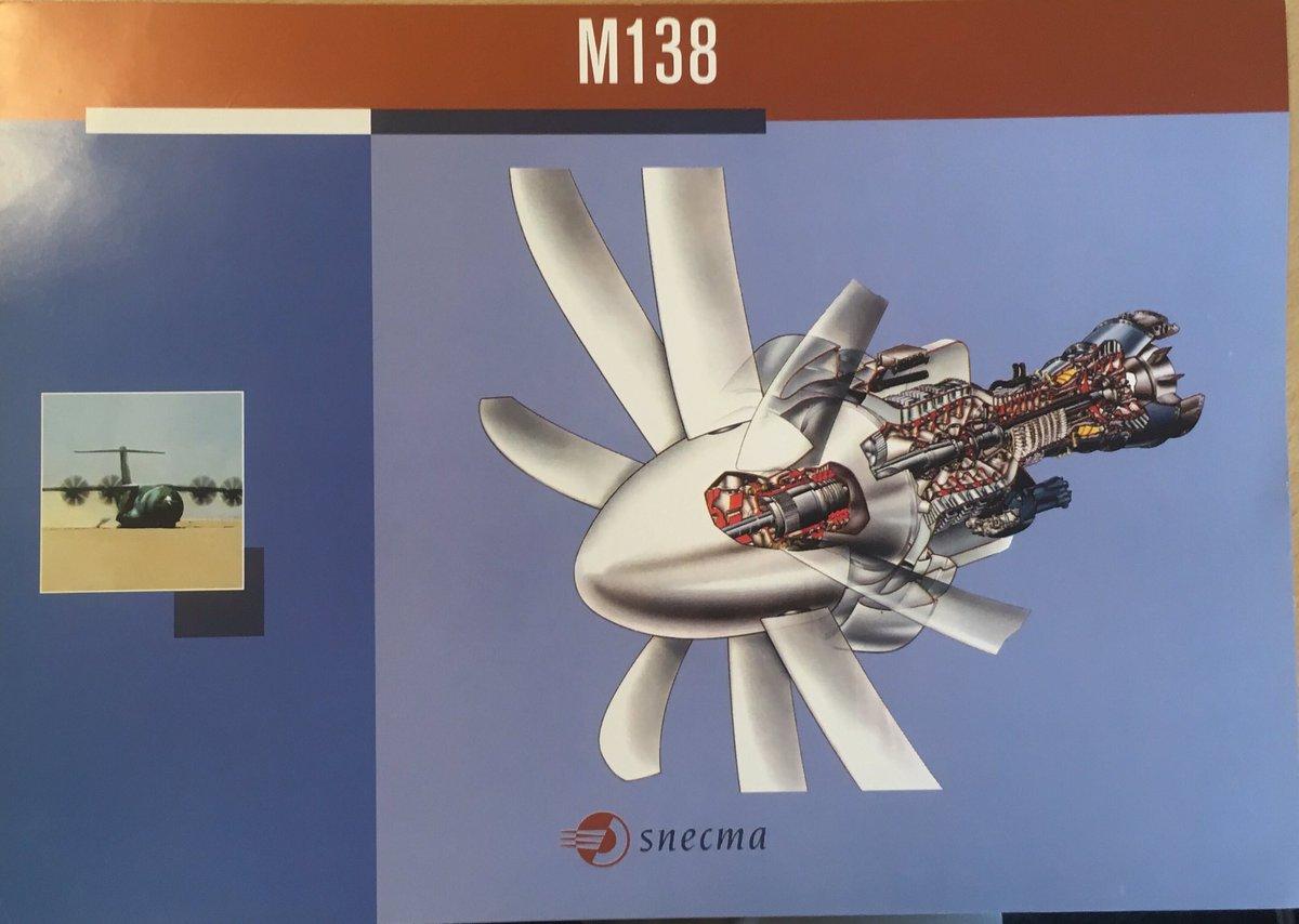 Fin de (l'insoutenable) suspense ... il s'agit du projet  Snecma (@SafranEngines ) M138, dérivé du M88 du Rafale pour motoriser @AirbusDefence A400 ... #avgeeks