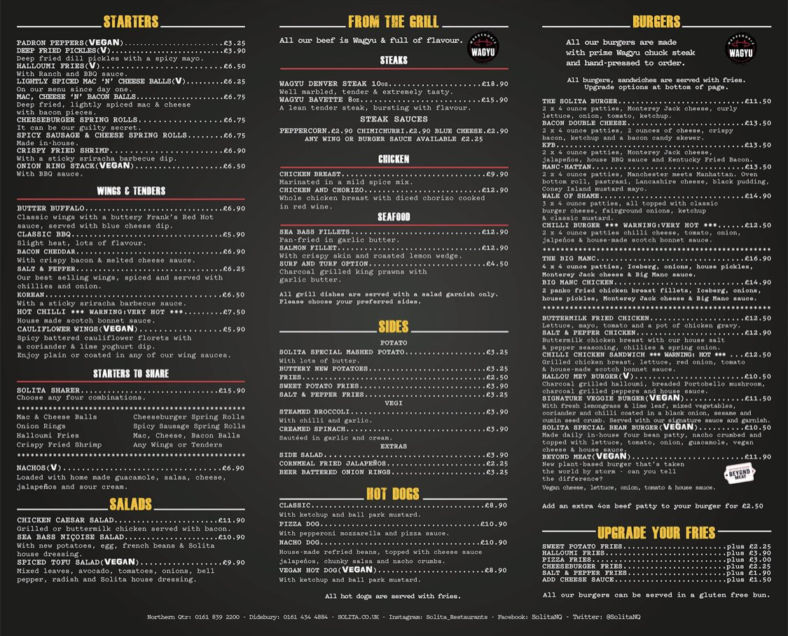 ****COMPETITION TIME**** Win a £50 tab to spend on our NEW MENU simply RT &  to enter  <br>http://pic.twitter.com/MD5X1qEUjv