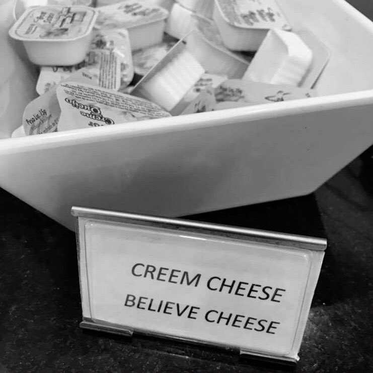 Motivational Cream Cheese believes you! #MondayMotivation <br>http://pic.twitter.com/ODYsHmZ1Y4