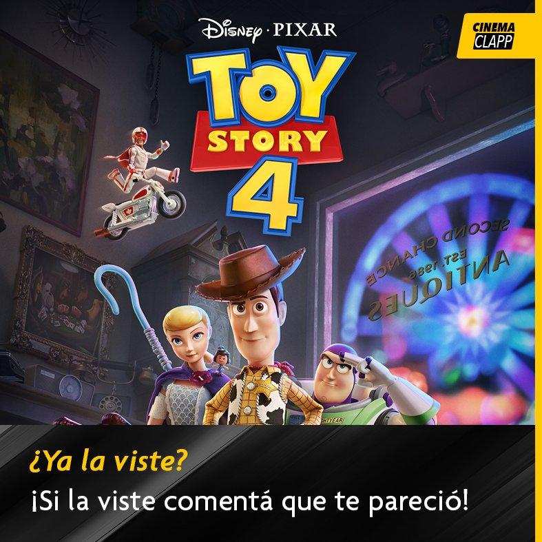 ¿Qué te pareció #ToyStory4 ? ¿Pudiste verla en los cines? La película se convirtió en una de las más vistas de #DisneyPixar con una trama llena de aventuras, acción y ternura para grande y chicos. #Cinemaclapp #Cine #Cinema #Paraguay