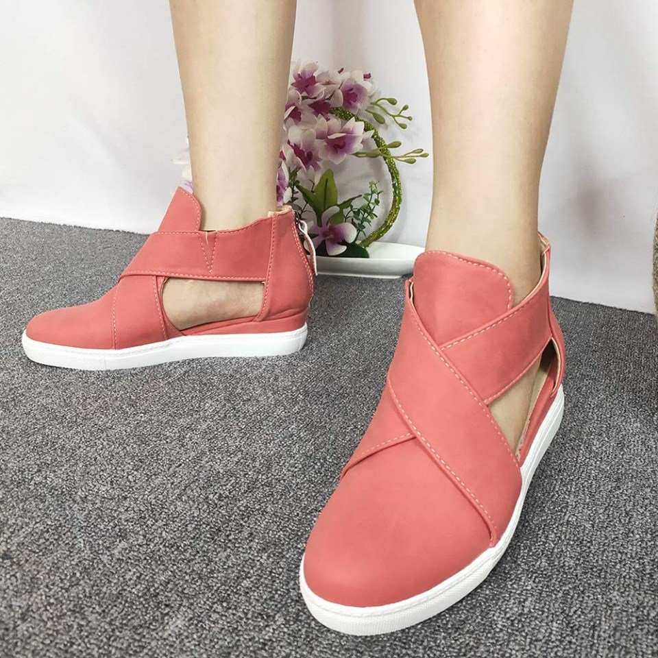 Closed Toe Wedge Heel Summer Shoes! Available in more colors.  Shop here -> https://amzn.to/32KGCMT  #shoes #shoebill #shoegaze #shoesaddict #wedges #summer #summerjam #amazon #shopping #fashion #youtube #heels #newshoes #shoeporn #love #MondayMotivation