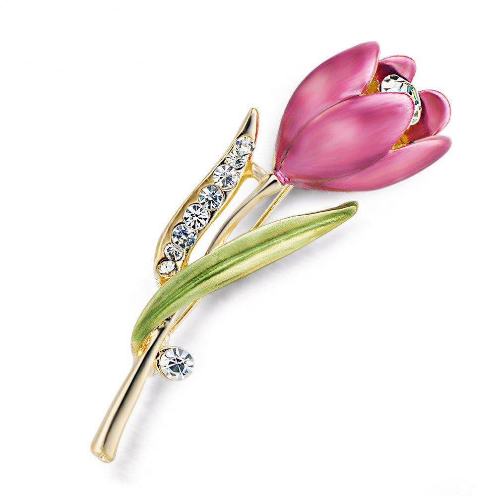 #heels #eyes Women's Tulip Crystal Brooch https://romexfashions.com/product/womens-tulip-crystal-brooch/…