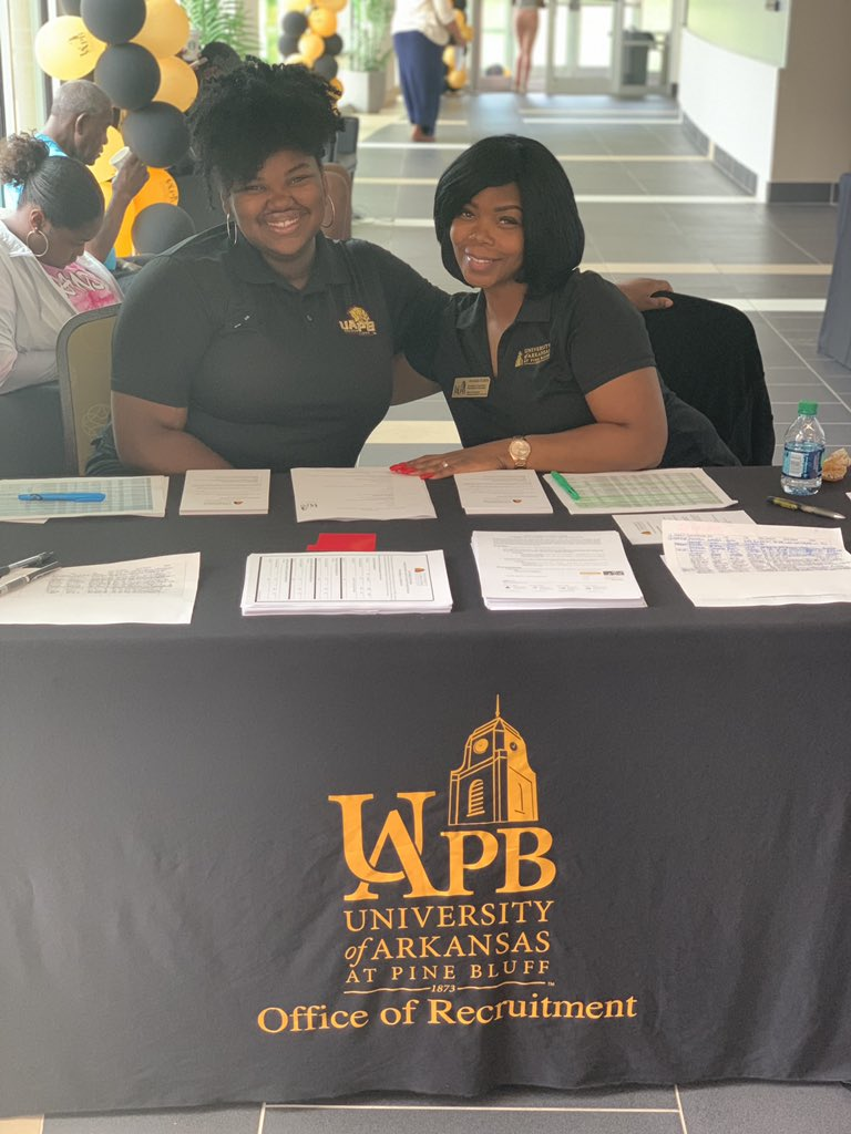 I'm elated to announce that I am beginning my journey in student affairs at....  #UAPB 's Office of Recruitment   It is  an honor to be working in the office that influenced my decision to join #thePRIDE !  it's up there and it's stuck there  !<br>http://pic.twitter.com/w3awwzxQLh