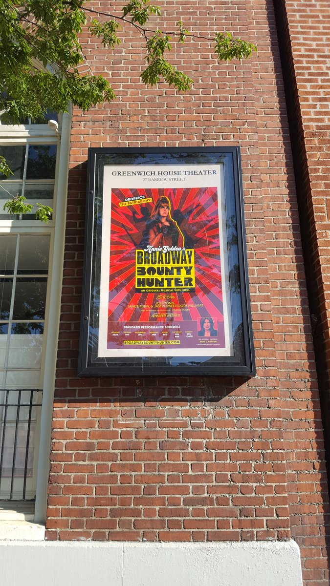 Happy Opening to @BwayBounty !!! This show is so funny, so inspiring, and so musically on FIRE. I wish the cast, creative team, and everyone involved in this BOMB show the absolute best!  #ImABountyHunter #DropkickThePatriarchy<br>http://pic.twitter.com/U8YK0rBmtK