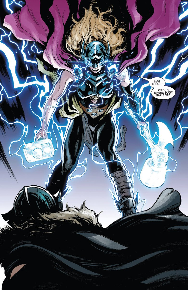 Can I have your attention please.   Jane Foster is not Female Thor or Thor Girl.   Her name is The Mighty Thor.   Get it right.   #MightyThor <br>http://pic.twitter.com/qU3I1wJf8g