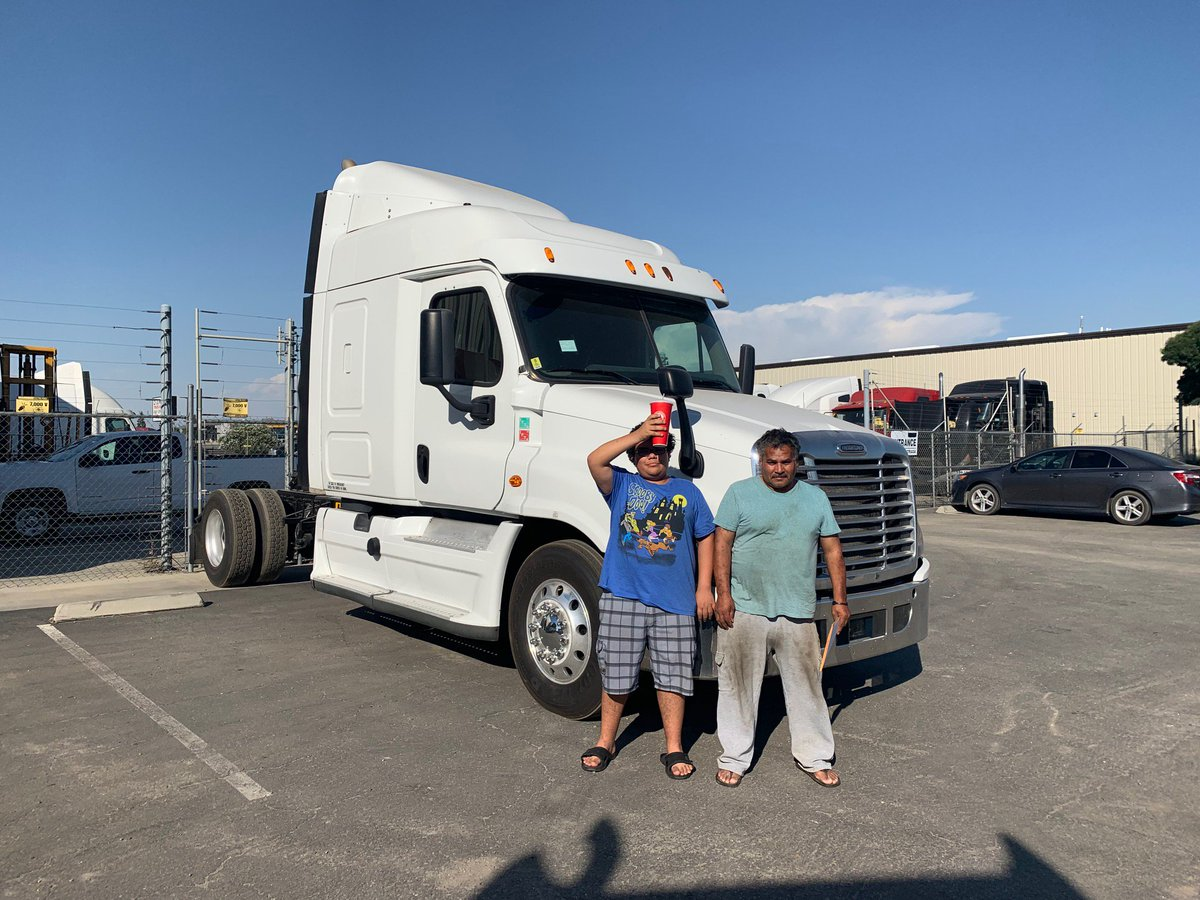 CONGRATULATIONS to Jose Madrigal on its purchase of a 2015 Freightliner. Make tons of money! - Cody #Trucking #Trucks  #TruckLife #TruckLovers #CDL #TruckingIndustry #ClassADriver #OwnerOperators #OwnerOperator #transport #transportation #keepontrucking #money #cashflow