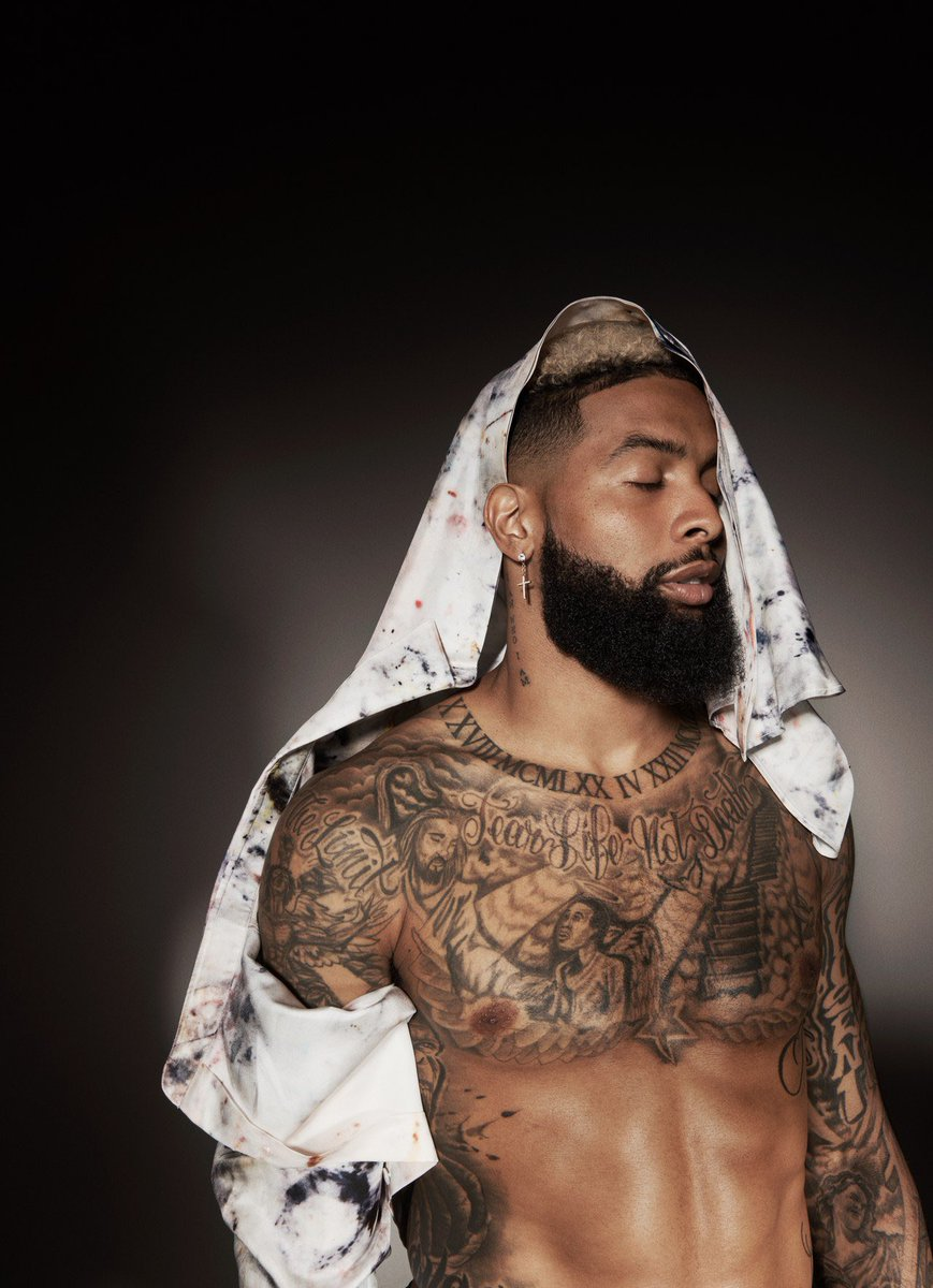Odell adressing gay rumors in his new GQ interview. Lmfao I love this response!!!!