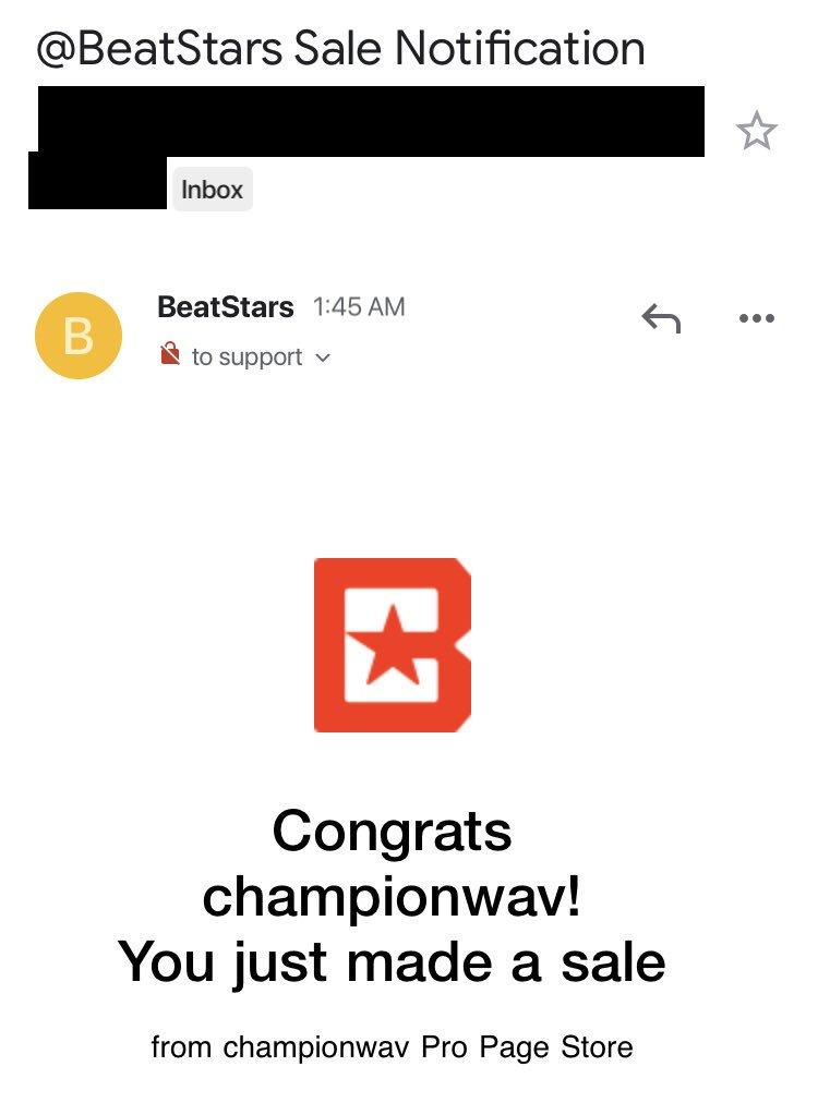 Thankful🙏🏼 @beatstars #beatstars https://t.co/AK7ZFNxIAJ