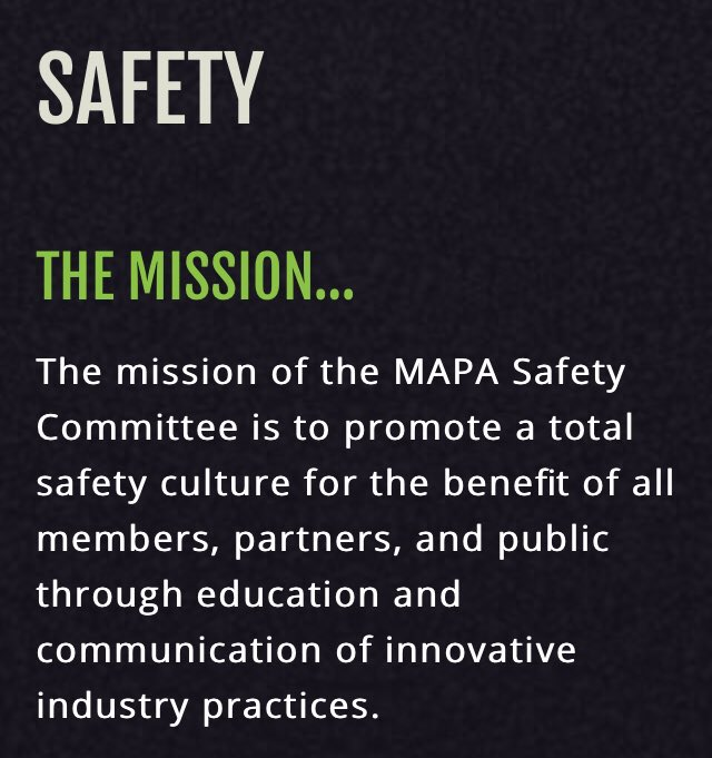 If you are involved in the asphalt industry in Missouri, you should be involved in the MAPA Safety Committee.  Learn more by visiting: https://moasphalt.org/education-center/safety/…  @MoAsphalt #AsphaltPaving #Asphalt #Missouri #Safety