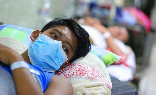 #Atención #Honduras ► Según el jefe de pediatría del Materno Infantil, Carlos Maldonado, confirmó que hoy lunes se reportaron 56 niños hospitalizados por dengue.