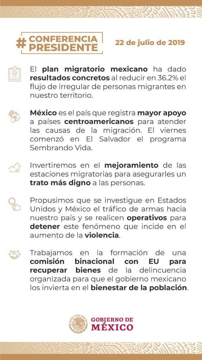 #PorSiTeLoPerdiste   Aquí los temas más relevantes abordados en la #ConferenciaPresidente de esta mañana: