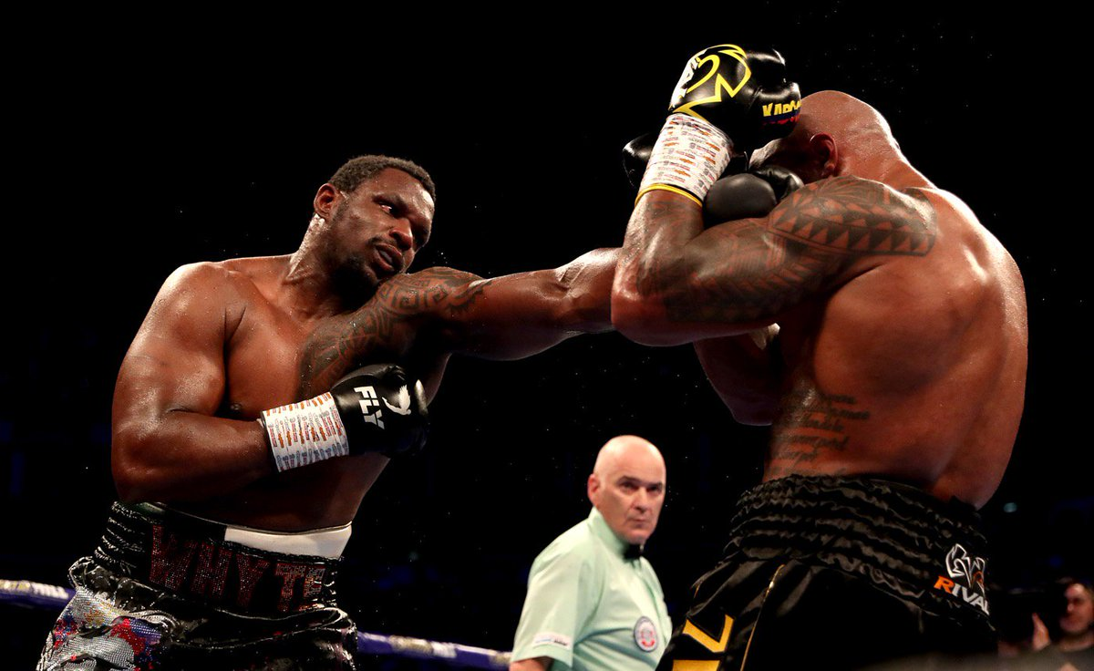 """🗣 Dillian Whyte: This is boxing, people talk a lot but when it comes to it, not a lot gets done. I'm the mandatory challenger now but I've already been the No.1 contender for over 600 days. I will fight again in November or December and then we'll see what happens."""""""