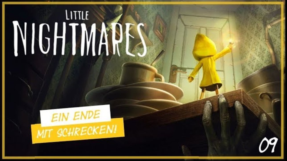 Ein Ende mit Schrecken! - Little Nightmares #09 - Let's Play  https://youtu.be/8EmevSAUTys  ----------------------------------------------------- #LittleNightmares #Nightmares #LetsPlay #Gameplay #Gamerin #Gamergirl #GermanMediaRT #Gaming #YouTube