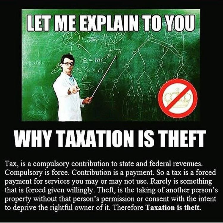 When people do not have the money to spend on the basic necessities of life due to how much #taxes are taken out, it hurts everyone! Small and large businesses and even government. Yes people should keep their income without living in fear of tax collectors. #taxation is theft https://t.co/LrDbGUiQ7x