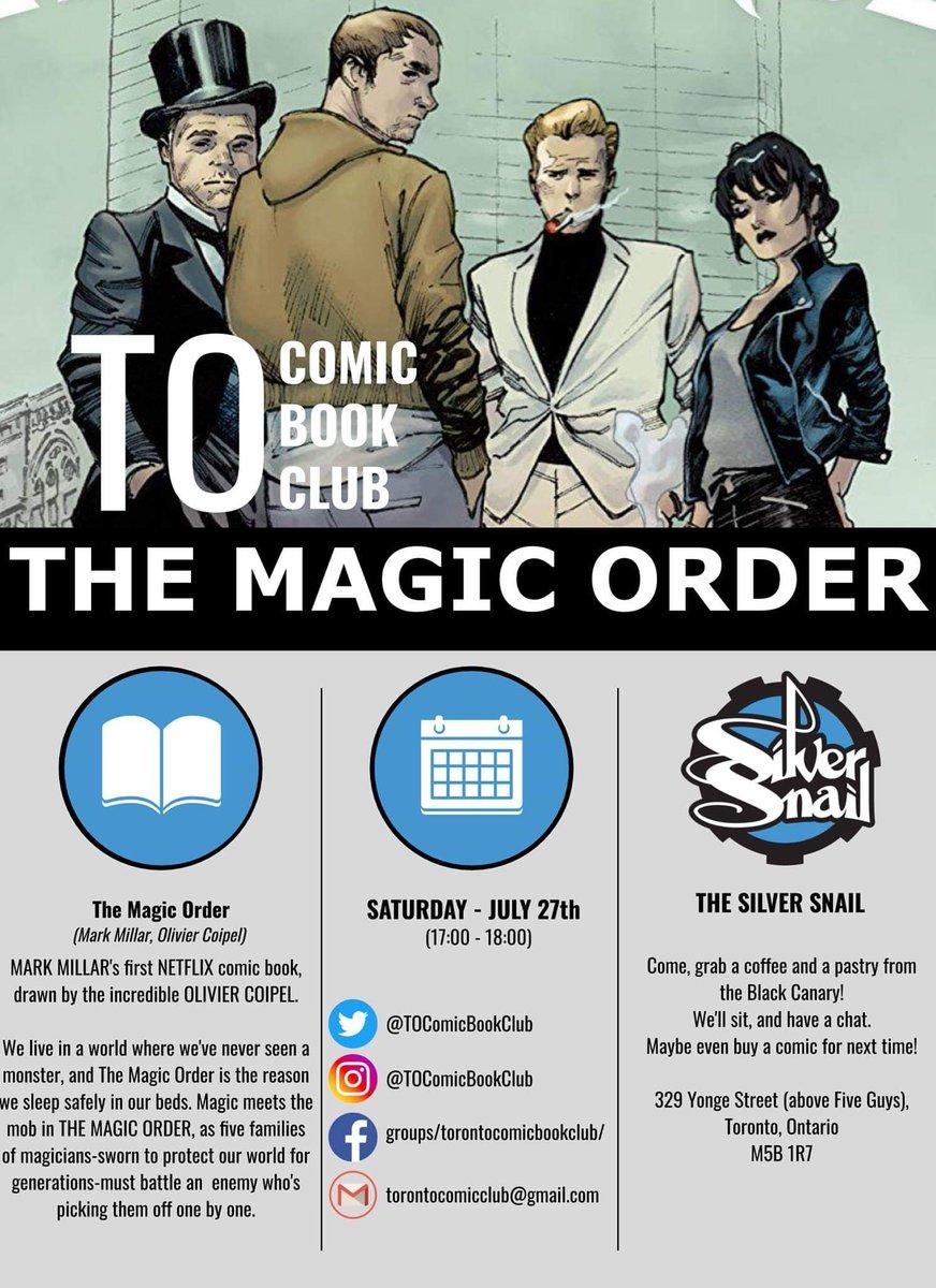 Toronto Comic Book Club (@TOcomicbookclub) | Twitter