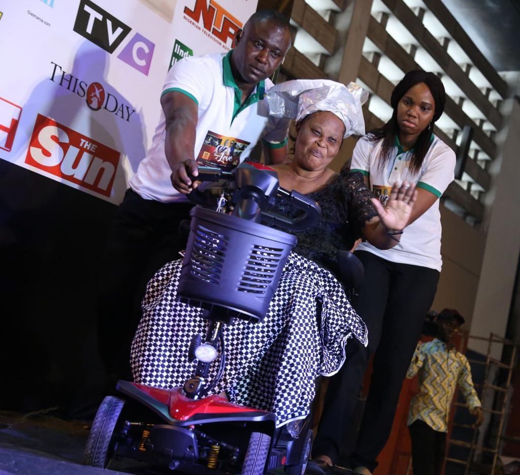 This is true philanthropism.  So because @Drkelly_nwogu 's mother was a cripple, he made it his mission to get the crippled the help they need and more.  #MeetDrKellyNwogu<br>http://pic.twitter.com/uGP57iyr4m