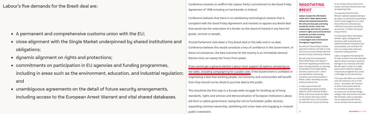 """""""Lads,  we still don't have a proper manifesto position on #Brexit..."""".  Don't we? You must have missed this:   https:// labour.org.uk/wp-content/upl oads/2017/10/labour-manifesto-2017.pdf  … <br>http://pic.twitter.com/4VlVD7awkC"""