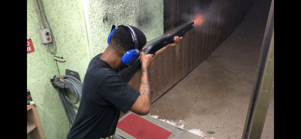 Shotgun training workin w the best guys